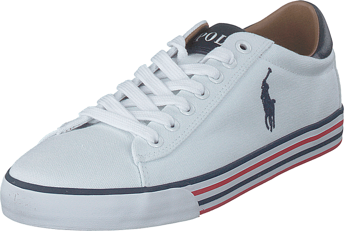 Polo Ralph Lauren - Harvey-ne Pure White/newport Navy