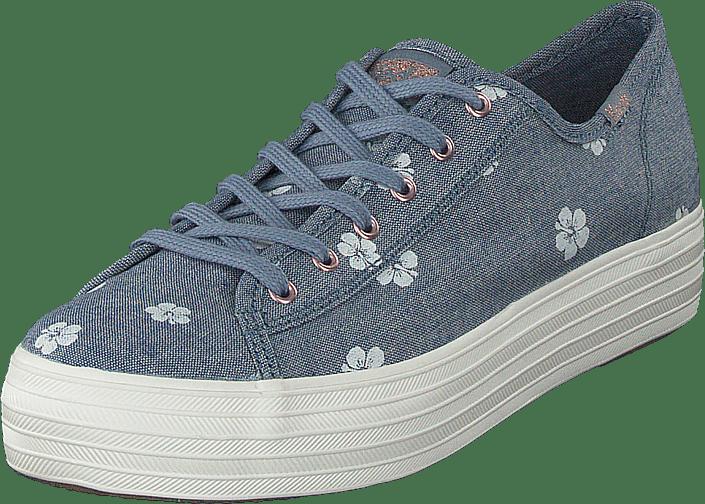 Keds - Tripple Kick Hibiscus Blue