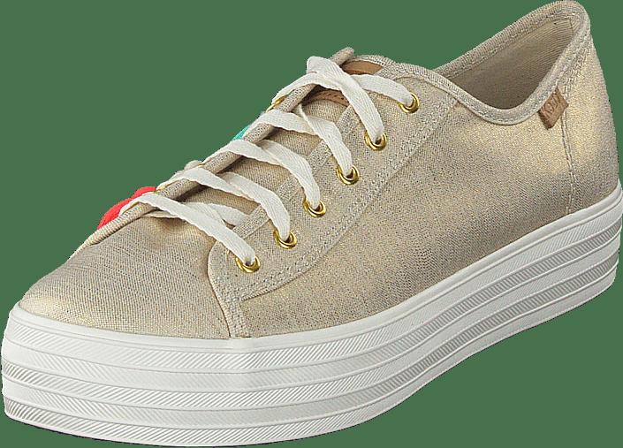 Keds - Triple Kick Tassle Natural / Gold
