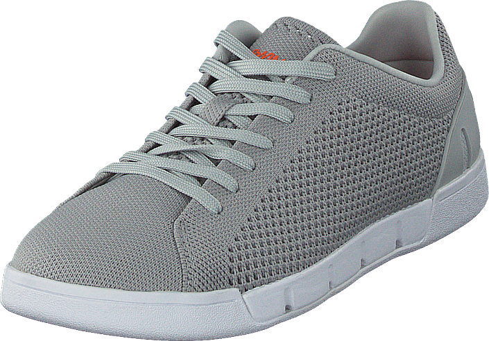 cf1e0bc01675 Kjøp Swims Breeze Tennis Knit Light Grey   White grå Sko Online ...