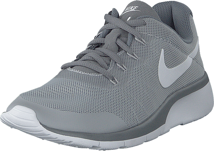 Nike Boys' Tanjun Racer (gs) Shoe Wolf Grey/white-cool Grey-anth ...