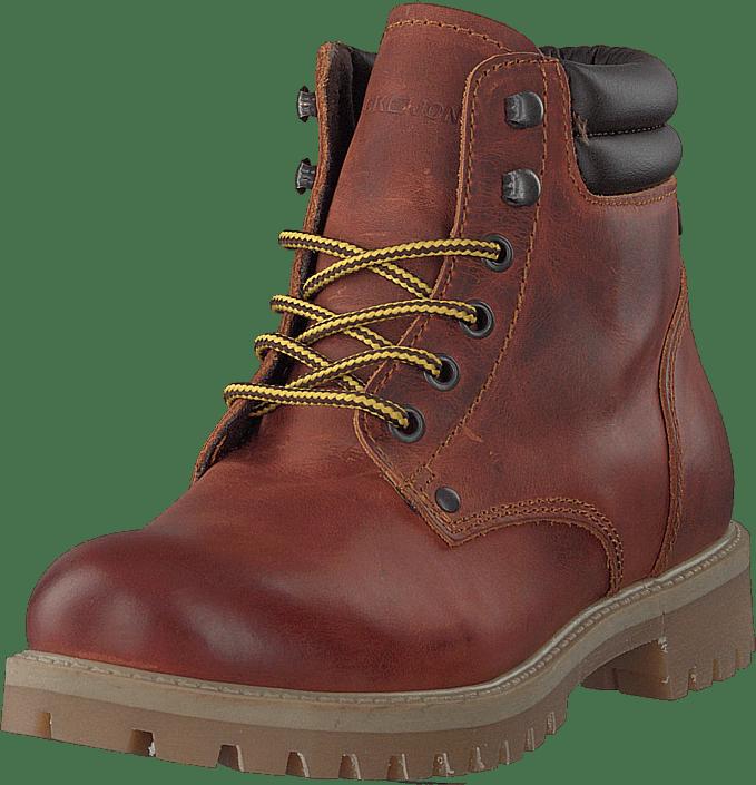Jack & Jones - Stoke Leather Rust