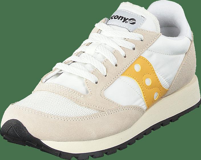 8618fad06613 Buy Saucony Jazz Original Vintage Cement yellow beige Shoes Online ...