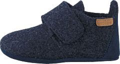 Home Shoe - Wool Star Blue
