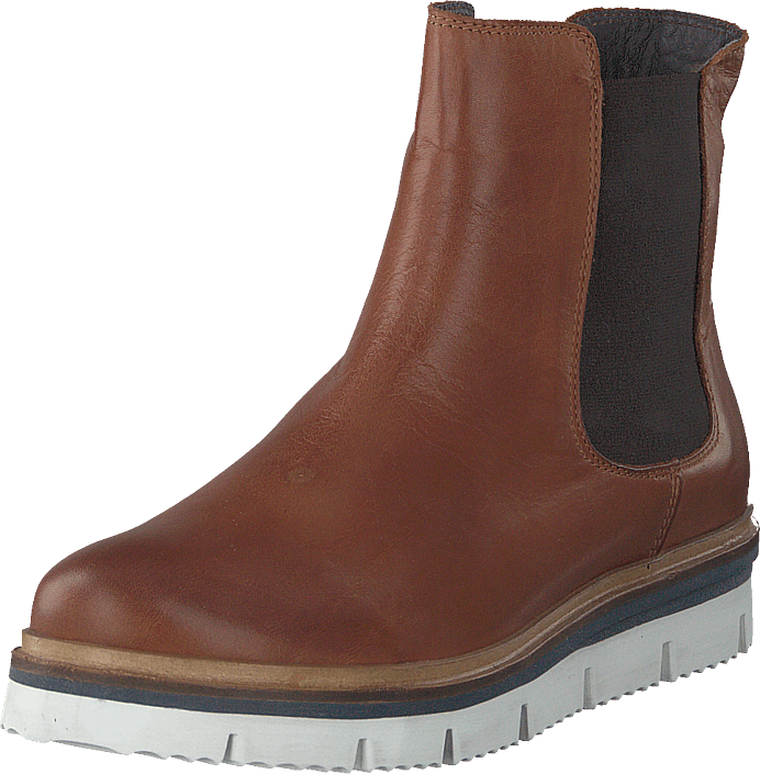 Bianco - Cleated Chelsea Jas18 Cognac