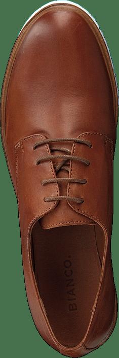 Femme Chaussures Acheter Bianco Inn. Lace Shoe Jfm18 Cognac Chaussures Online