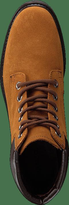 Bianco - Low Cut Laced Up Boot Jas18 Cognac