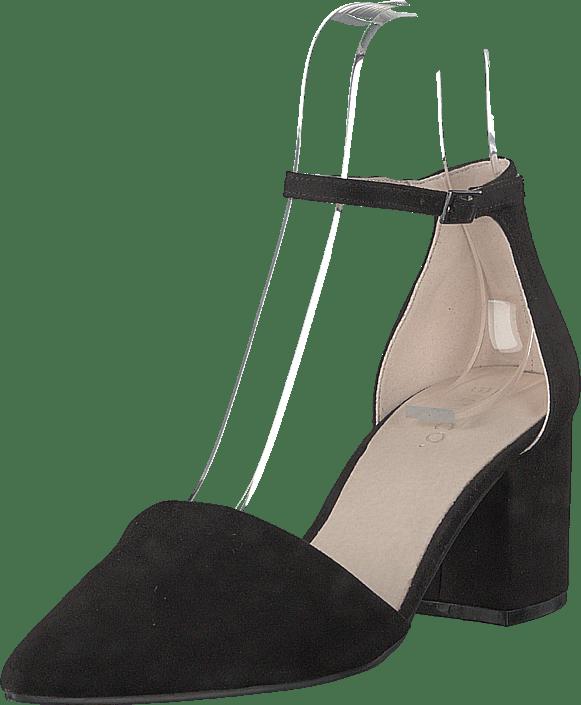 Sko Kjøp Divided Online Black Bianco Pump Sorte Heels Noos rYrxw