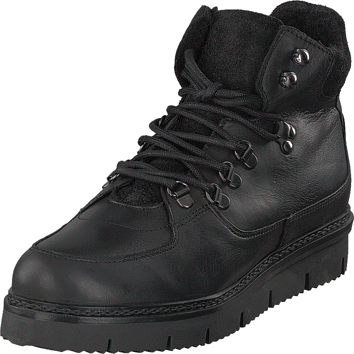Bianco - Warm Hiking Boot Jas18 Black