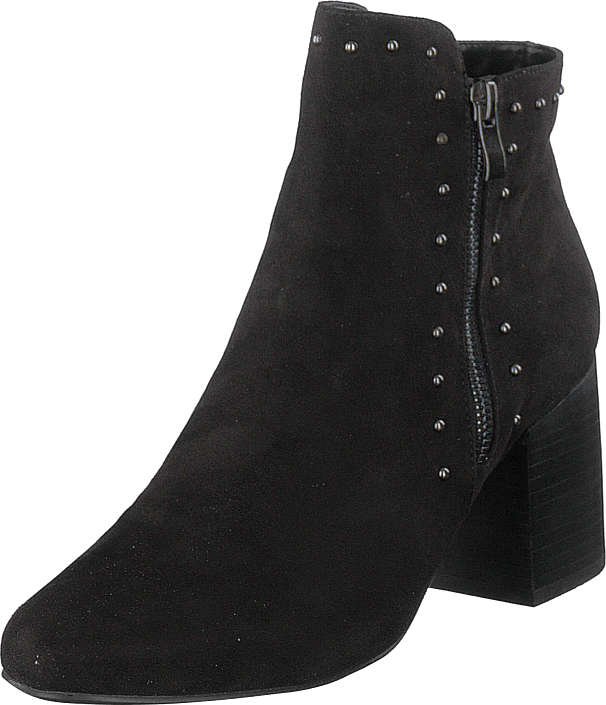 Bianco - Ankle Boot With Details Jas18 Black