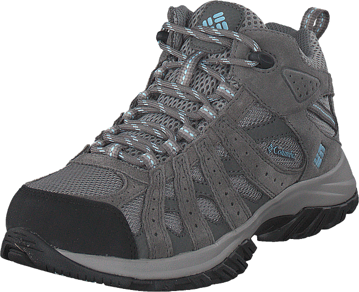Columbia - Canyon Point Mid Waterproof 060, Light Grey, Oxygen