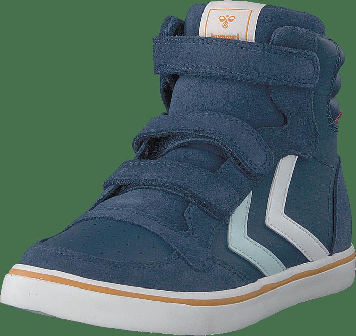 Hummel - Stadil Leather Jr Blue Wing Teal