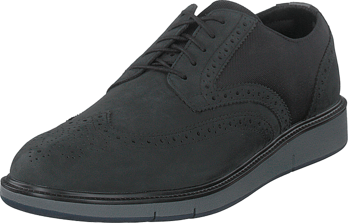 Swims - Motion Wing Tip Oxford Black/grey/navy
