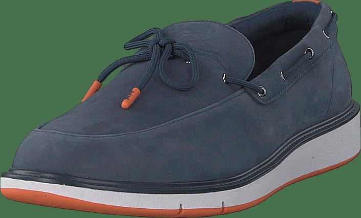 Motion Lace Loafer Navy/orange