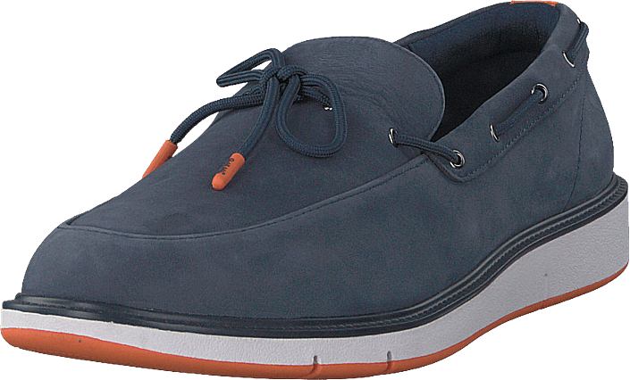 Swims - Motion Lace Loafer Navy/orange