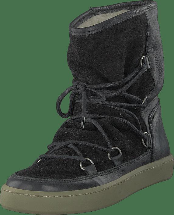 Pavement - Frigga Wool Black Suede