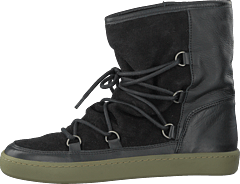 Frigga Wool Black Suede