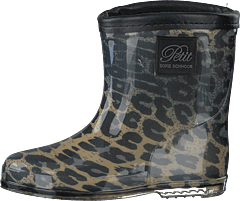 Rubber Boot Baby Leopard