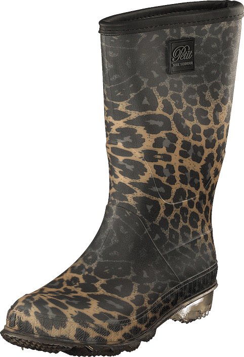 Petit by Sofie Schnoor - Boot Rubber W. Lining Leopard