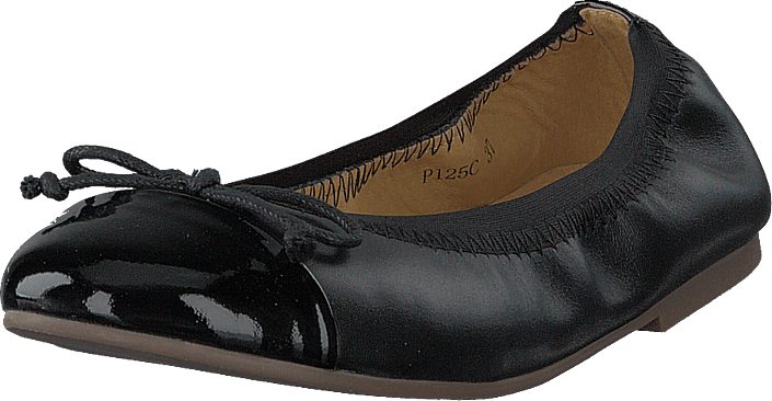 Petit by Sofie Schnoor - Leather Ballerina Black