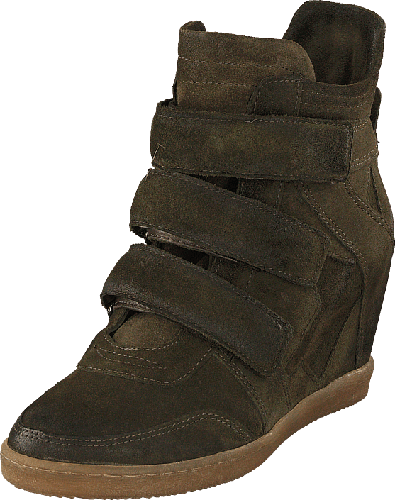 Sneaker Wedge Alta Muschio5251