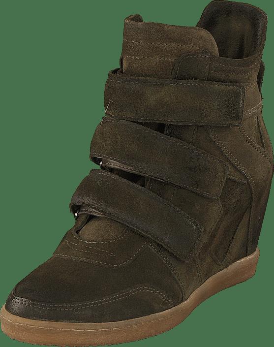MJUS - Sneaker Wedge Alta Muschio/5251