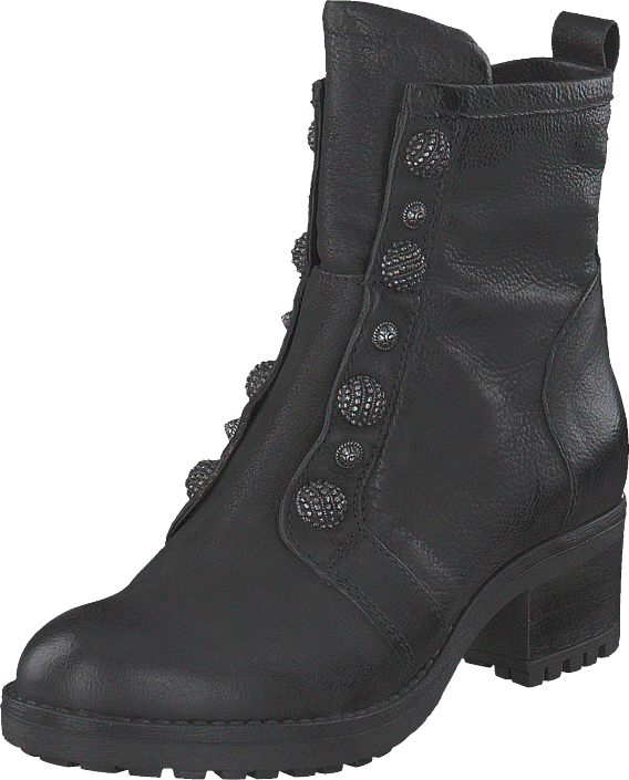 MJUS - Boois Silver Buttons Misa Nero/5001