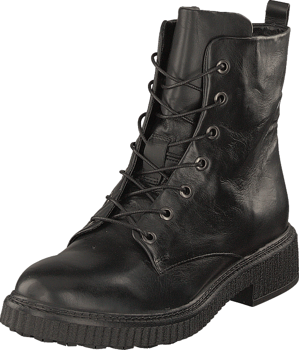 MJUS - Lace-up Creep Nero/7401