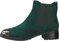 Boot Suede Dark Green