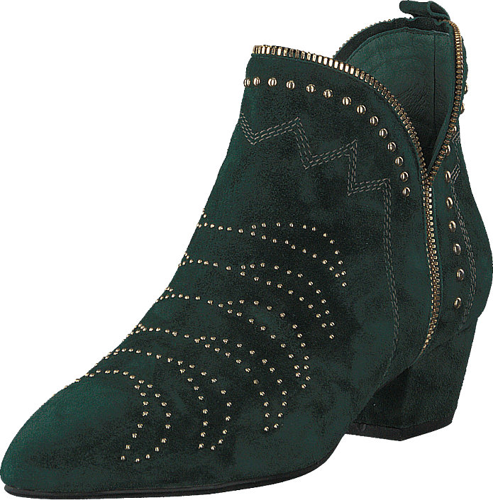 e62ab6a1d1c Buy Sofie Schnoor Boot Stitch Suede Dark Green purple Shoes Online ...