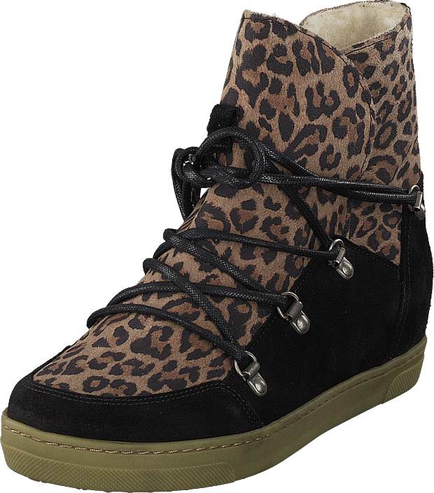 Pavement - Uma Wool Leopard Suede
