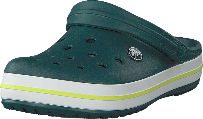 Crocs - Crocband Evergreen/tennis Ball Green