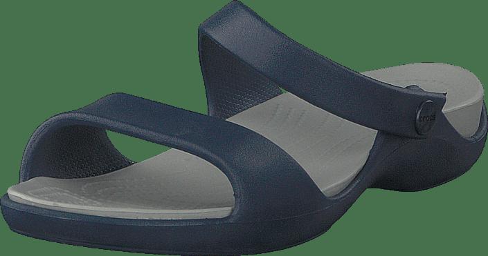 Cleo V Sandal Women Navy/light Grey