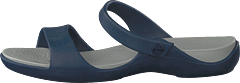 Cleo V Sandal Women Navy/light Grey