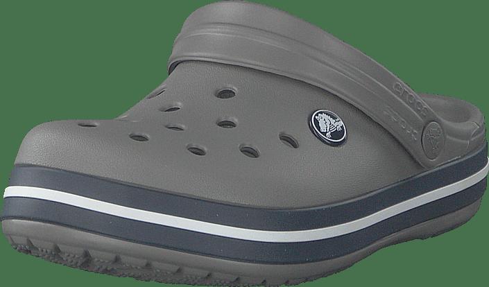 008112782e1 Köp Crocs Crocband Clog Kids Smoke/navy gråa Skor Online   FOOTWAY.se