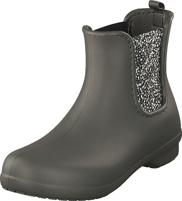 Crocs - Freesail Chelsea Boot Women Slate Grey/dots