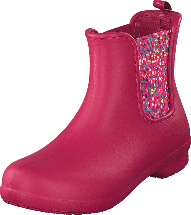 Crocs - Freesail Chelsea Boot Women Berry/dots