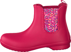 Freesail Chelsea Boot Women Berry/dots