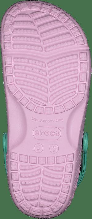 Crocs Fun Lab Clog Kids Ballerina Pink/new Mint