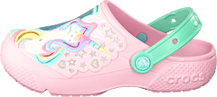 Crocs Fun Lab Clog Kids Ballerina Pink/new Mint