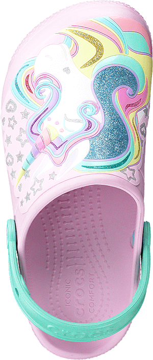 Crocs - Crocs Fun Lab Clog Kids Ballerina Pink/new Mint