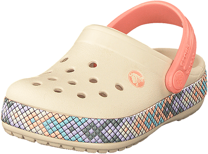 Crocs - Crocband Gallery Clog Kids Stucco/melon