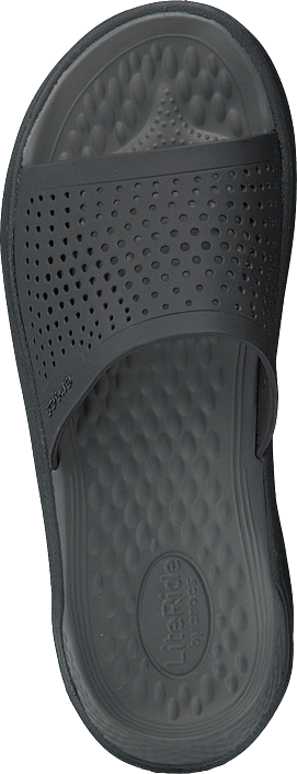 Crocs - Literide Slide Black/slate Grey