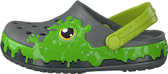 Fun Lab Slime Band Clog Kids Slate Grey