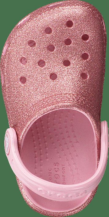 Classic Glitter Clog Kids Blossom