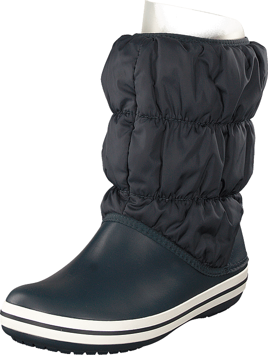 Crocs - Winter Puff Boot Women Navy/white