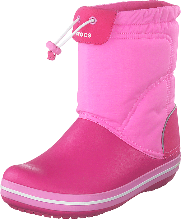 Crocband Lodgepoint Boot Kids Candy Pink/party Pink