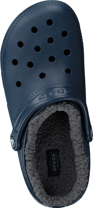 Classic Lined Clog Navy/charcoal