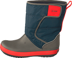 Lodge Point Snowboot Kids Navy/slate Grey