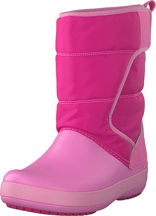 Crocs - Lodgpoint Snowboot Kids Candy Pink/party Pink